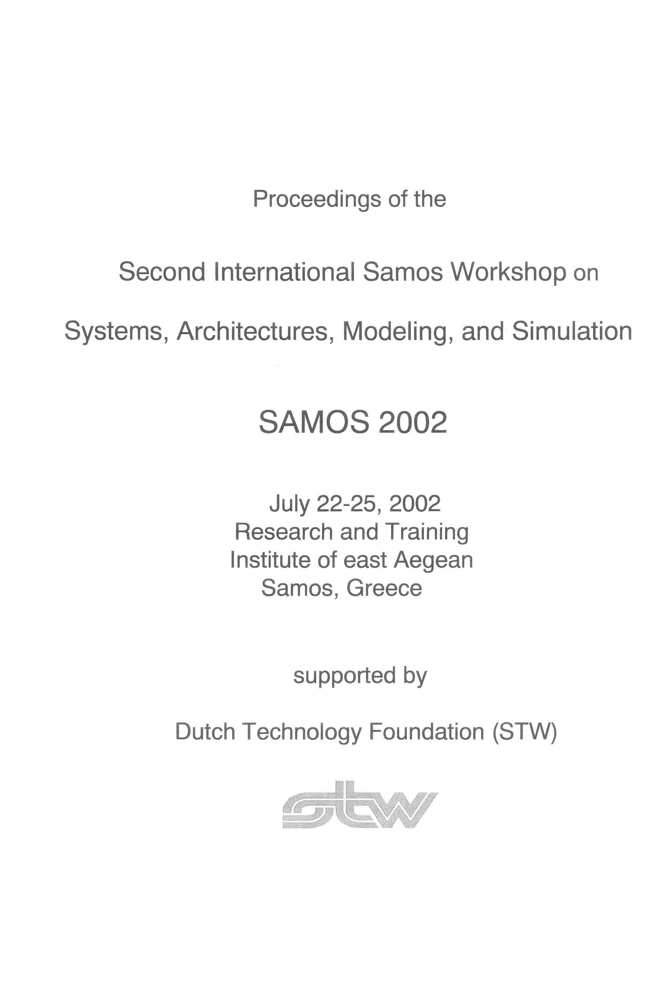 SAMOS 2002